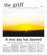 The Griff MacEwan University Newspaper