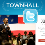 Obama's Twitter Townhall Meeting