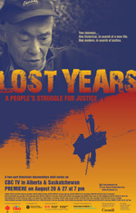 Lost Years Poster CBC Alberta