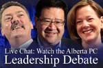 Edmonton Journal Live Debate