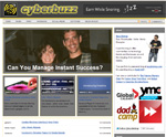 cyberbuzz, Alberta blog
