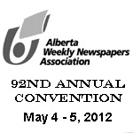 Alberta Weekly Newspaper Association Convention 2012