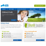ATB Cares Alberta website