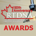 RTDNA Canada, The Association of Electronic Journalists Awards